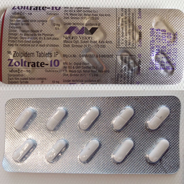 AMBIEN / Zolpidem 10MG (INDIAN)