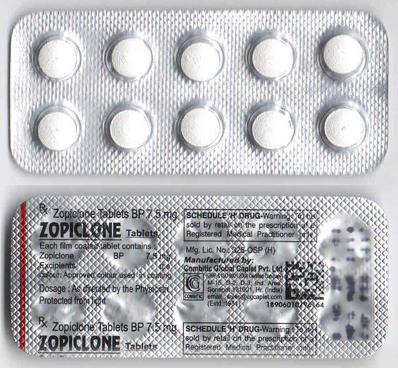 ZOPICLONE 7.5MG (Indian)**SALE**NEW OFFERS**